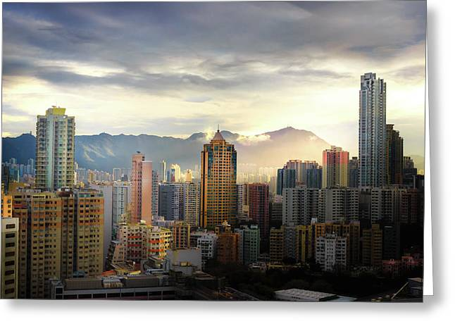 Good Morning, Hong Kong Greeting Card