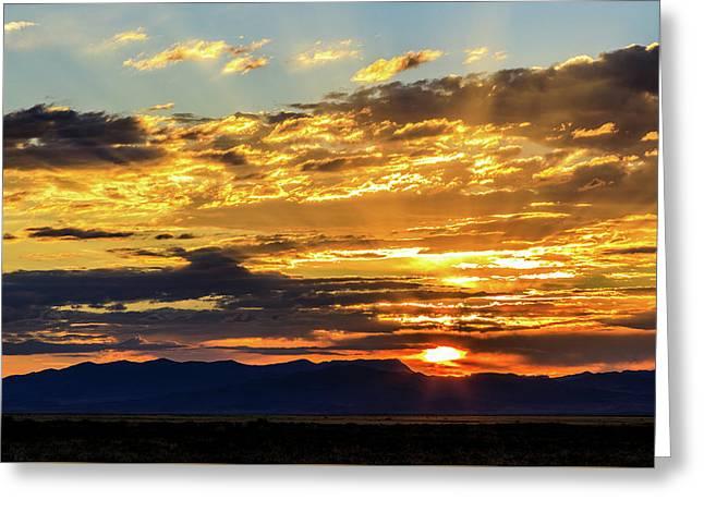 Good Morning Nevada Greeting Card