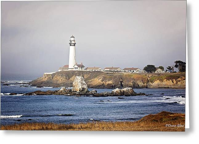 Good Morning Pigeon Point Greeting Card