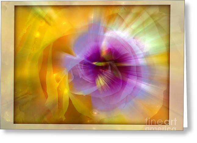 Good Morning Sunshine Greeting Card by Chuck Brittenham