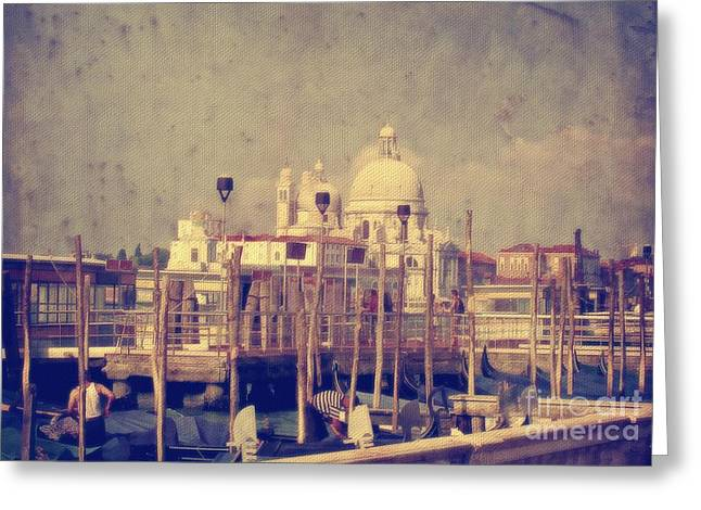Good Morning Venice Greeting Card by Lois Bryan