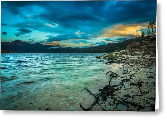 Good Morning Whiskeytown Greeting Card by Michele James