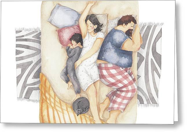 Good Night Sleep Tight Greeting Card