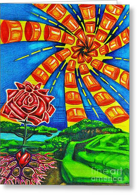 Good Soil Greeting Card by Jeff  Blevins