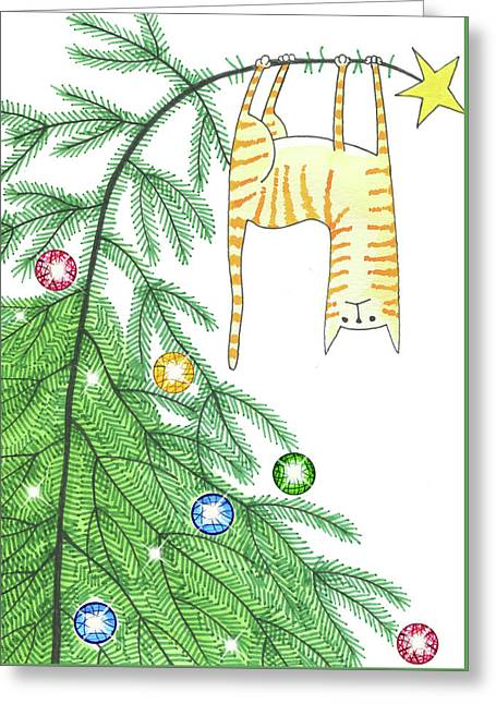 Goodbye, Christmas Tree  Greeting Card