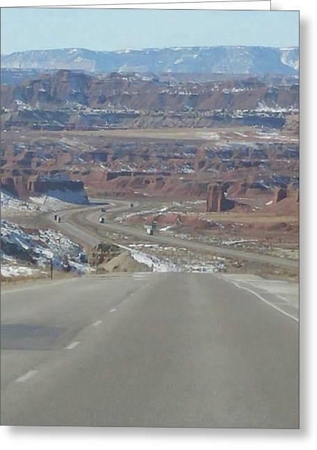 Goodbye Utah Greeting Card