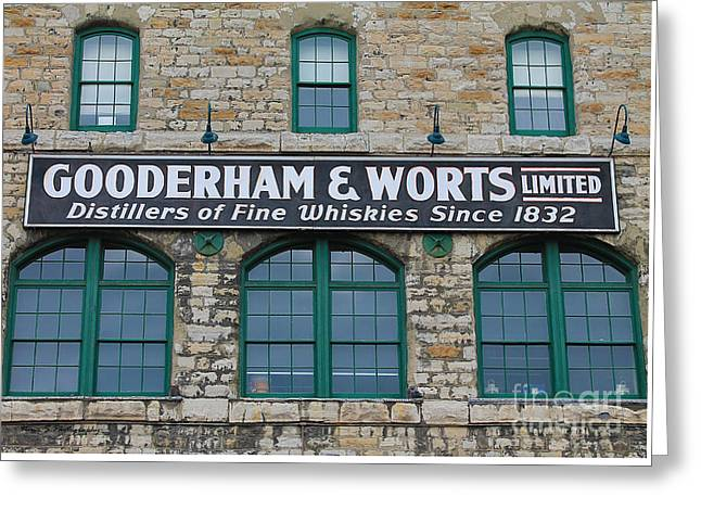 Gooderham And Worts Distillery Greeting Card