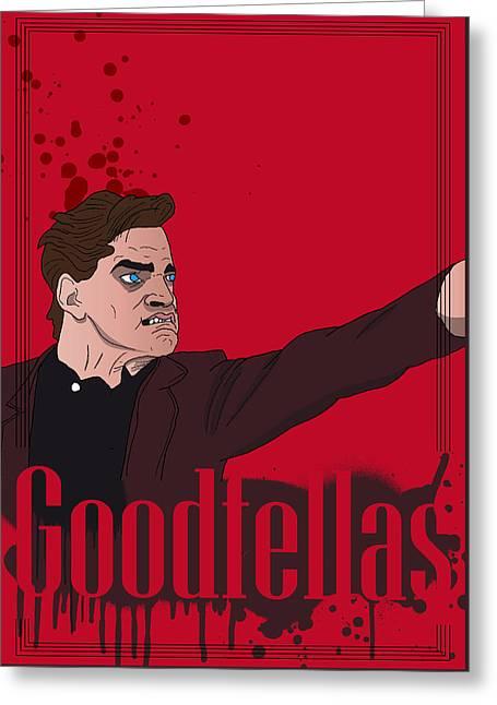 Goodfellas - Henry Greeting Card by Ralf Wandschneider