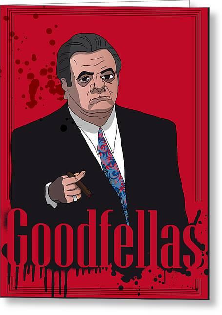 Goodfellas - Paul Greeting Card by Ralf Wandschneider