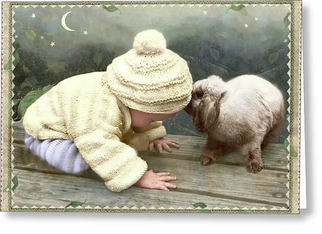 Goodnight Bunny Greeting Card