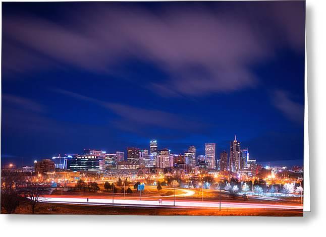 Goodnight Denver Greeting Card