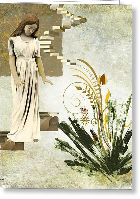 Goodnight Irene Greeting Card by Van Renselar