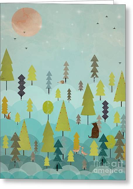 Goodnight Little Sunshine Greeting Card