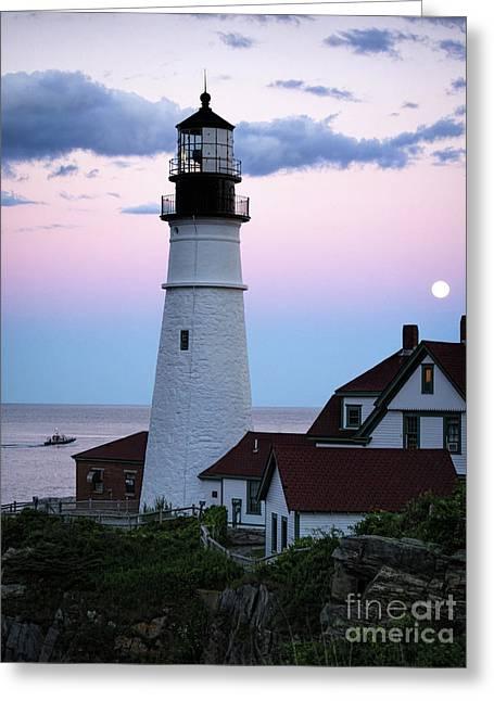 Goodnight Moon, Goodnight Lighthouse  -98588 Greeting Card