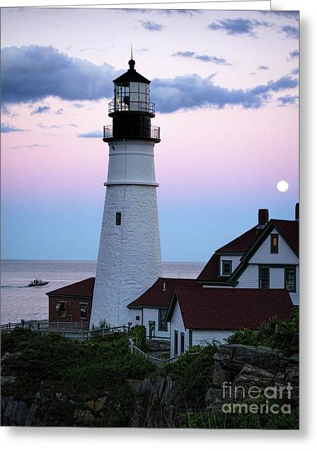 Goodnight Moon, Goodnight Lighthouse  -98588 Greeting Card