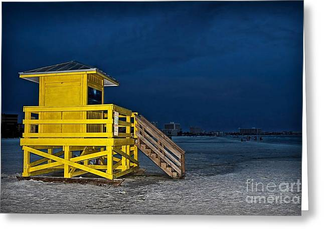 Goodnight Siesta Key Greeting Card