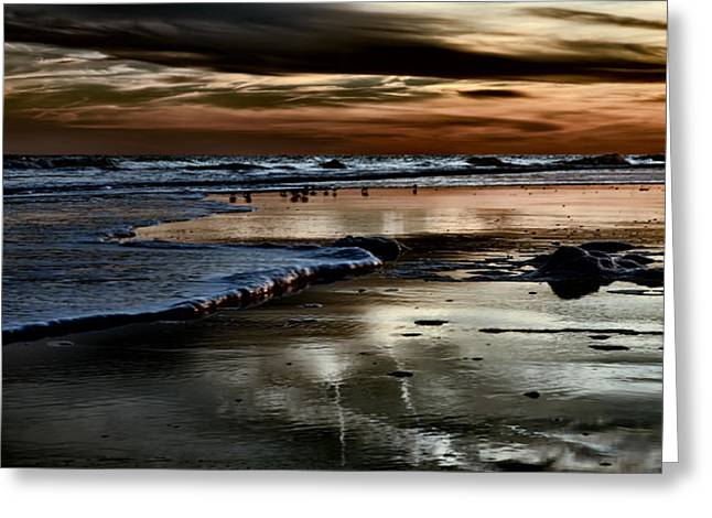 Goodnight Sun Isle Of Palms Greeting Card