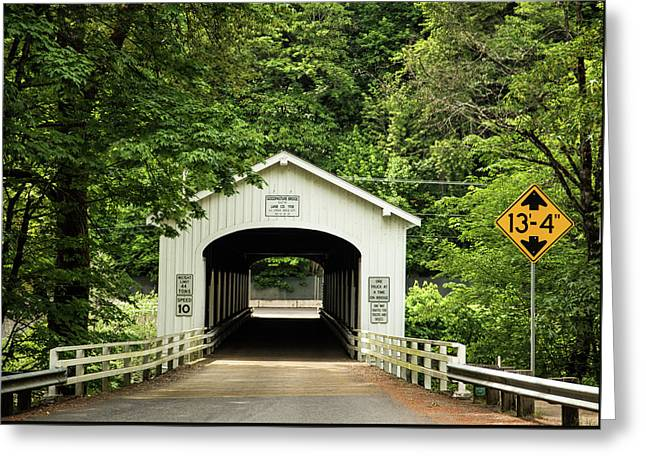 Goodpasture Covered Bridge Greeting Card