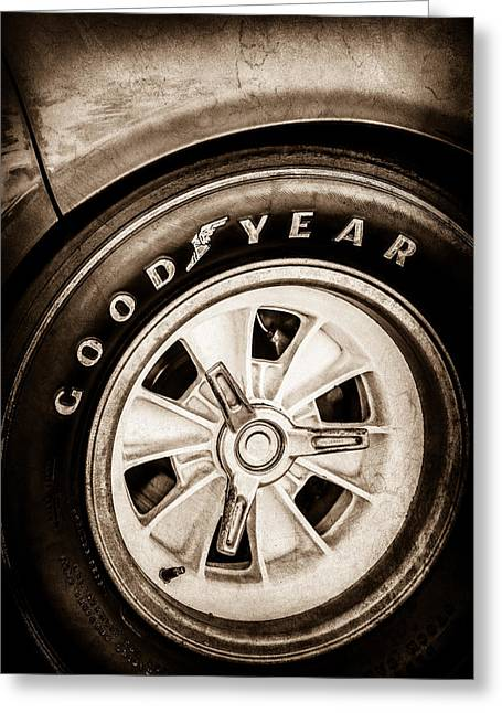 Goodyear Tire -0250s Greeting Card