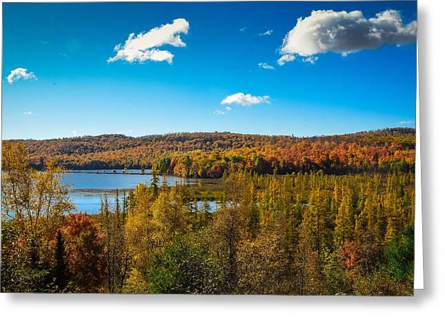 Goose Lake Greeting Card
