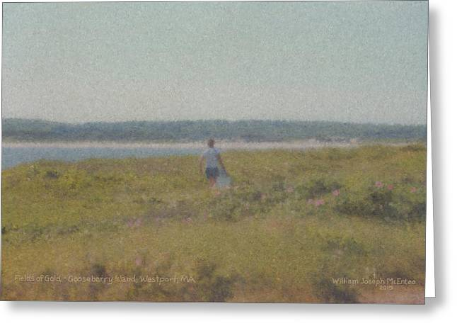 Gooseberry Island Westport Ma Greeting Card