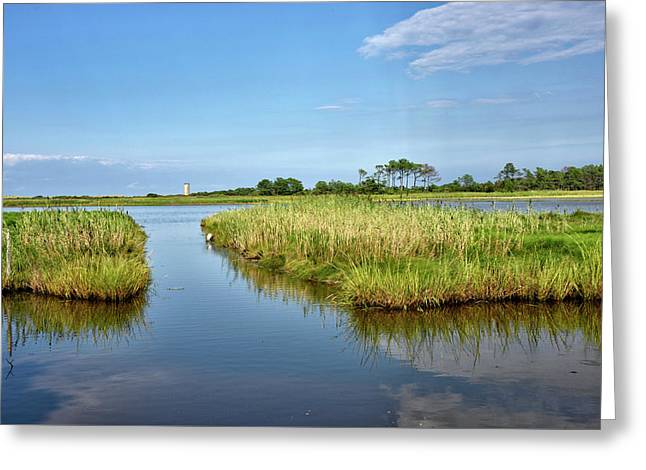 Greeting Card featuring the photograph Gordons Pond - Cape Henlopen Park - Delaware by Brendan Reals