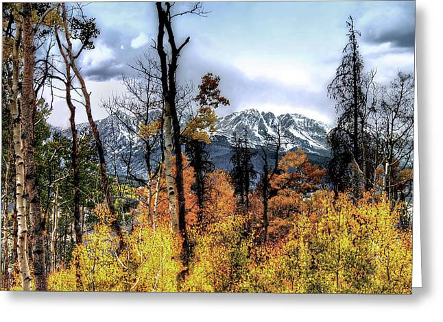 Gore Range Greeting Card by Jim Hill