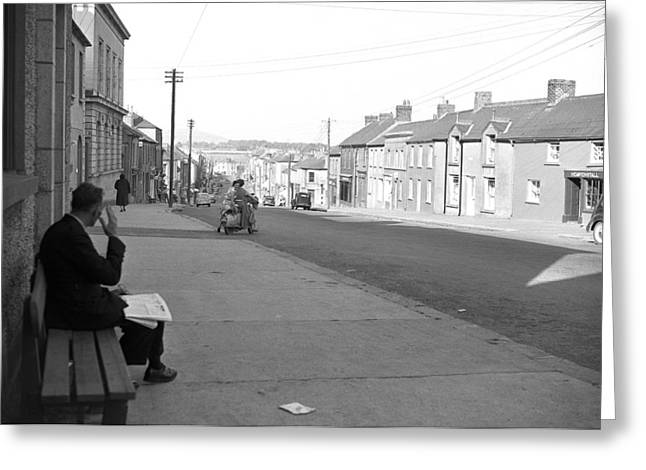 Gorey County Wexford 1957 Greeting Card by Irish Photo Archive