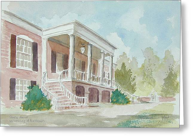 Gorgas House Greeting Card by Jim Stovall