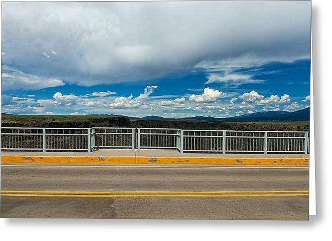 Gorge Bridge North View Greeting Card