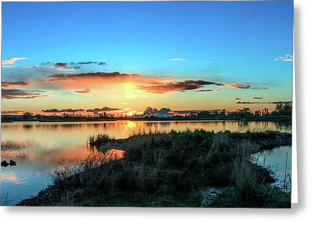 Gorgeous Evening Greeting Card by Robert Bales