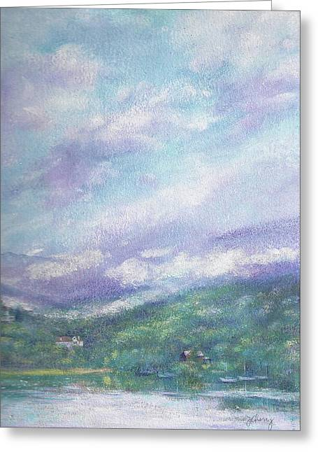 Gorgeous Lake Landscape Greeting Card