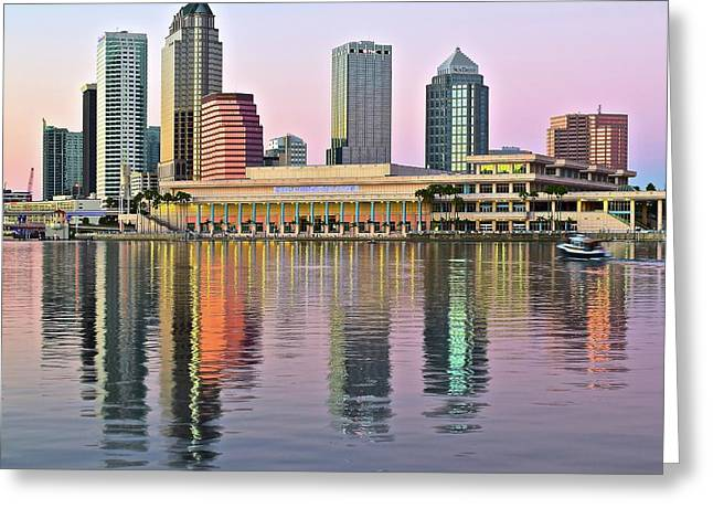 Gorgeous Tampa Bay Greeting Card by Frozen in Time Fine Art Photography