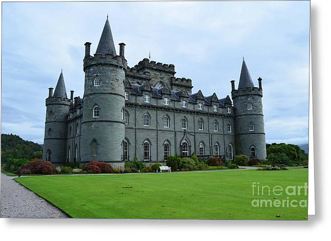 Gorgeous View Of Inveraray Castle Greeting Card