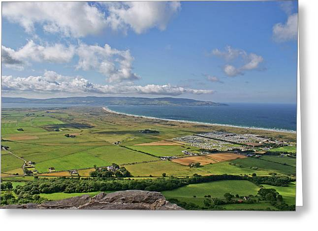 Gortmore Viewpoint, Northern Ireland. Greeting Card