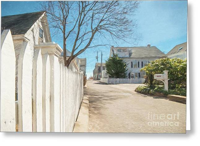 Gosnold St. Provincetown Greeting Card