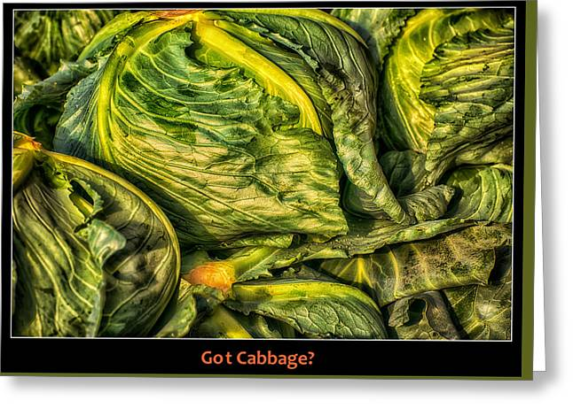Got Cabbage? Greeting Card