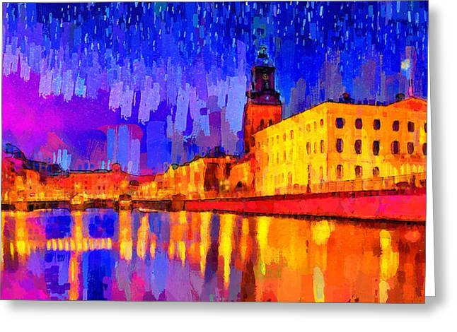 Gothenburg Sweden 2 - Da Greeting Card