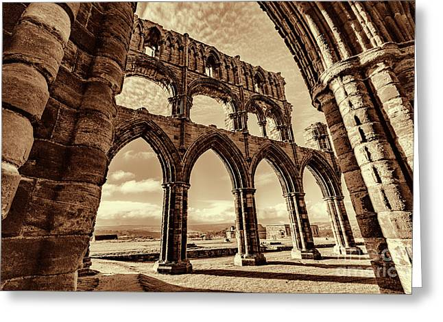 Greeting Card featuring the photograph Gothic Dreams by Anthony Baatz