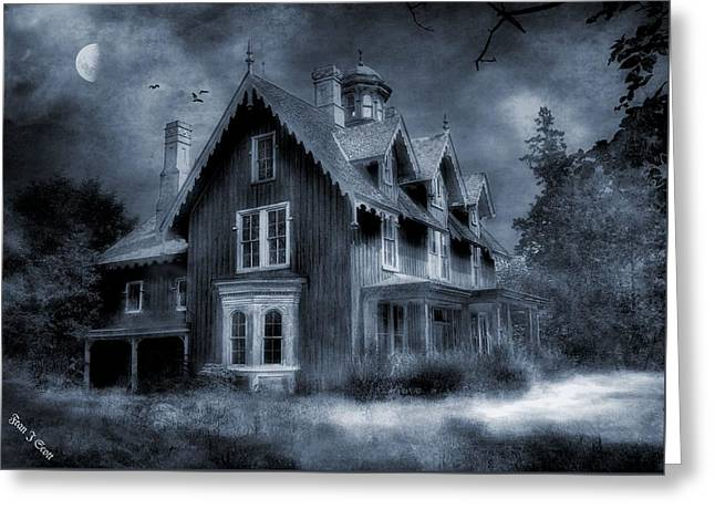 Gothic Revival Greeting Card by Fran J Scott
