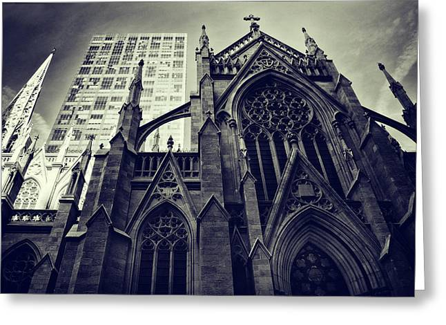 Gothic Perspectives Greeting Card