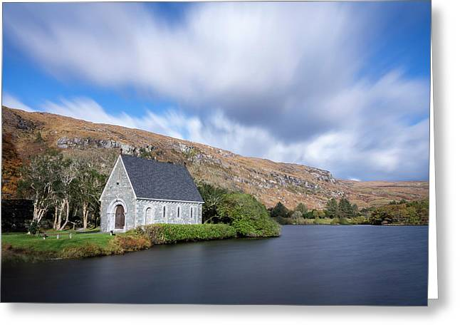 Gougane Barra, Ballingeary, Cork Greeting Card by Philip Mulhall