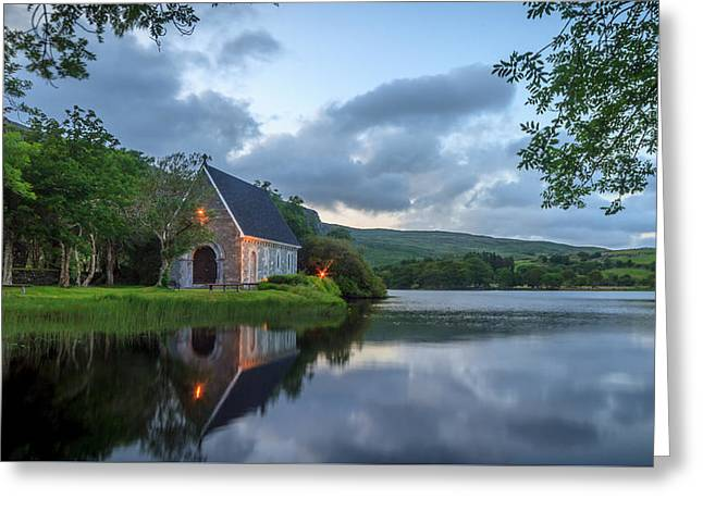Gougane Barra Greeting Card by John Hurley