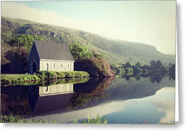 Gougane Barra In Ireland Photo Greeting Card by Susan Templin
