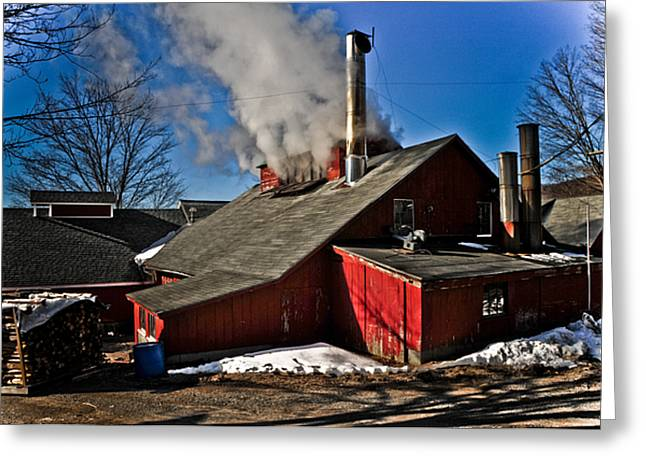 Goulds Sugarhouse Greeting Card