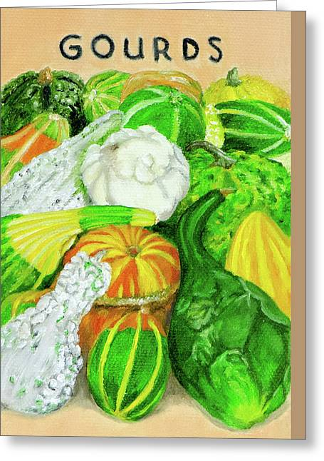 Gourd Seed Packet Greeting Card
