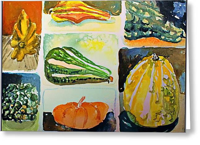 Gourdous Greeting Card