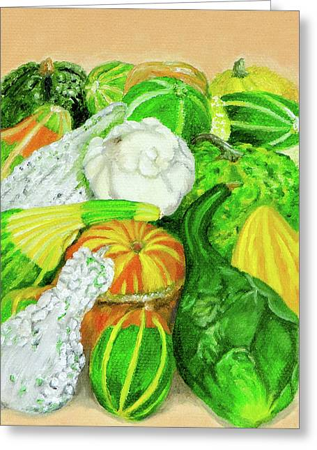 Gourds Seed Packet No Lettering Greeting Card