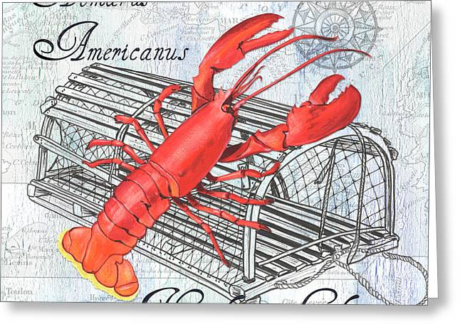 Gourmet Shellfish 2 Greeting Card