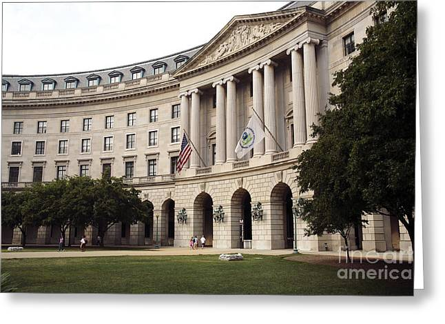 Government Achitecture In Washington Dc Greeting Card